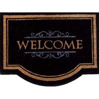 Χαλάκια εισόδου Ruco Classic 001 welcome black 60x80cm