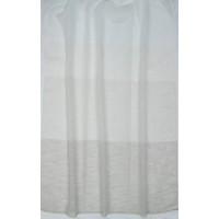 Κουρτίνα ριγέ διάφανη με το μέτρο 18540-01