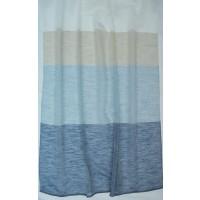 Κουρτίνα ριγέ διάφανη με το μέτρο 18540-04