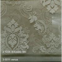 Κουρτίνες δαντέλες σετ με το μέτρο Dolcezza 2-1236 Olio