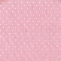 Ύφασμα λονέτα πουά ρόζ matilde 2 με το μέτρο