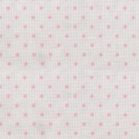 Κουρτίνα πουά ρόζ με το μέτρο Plumetti etamin pink 10