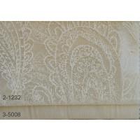 Κουρτίνες δαντέλες σετ με το μέτρο Lahore 2-1232 Beige