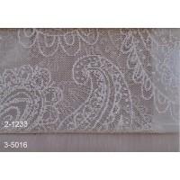 Κουρτίνες δαντέλες σετ με το μέτρο Lahore 2-1233 Moss