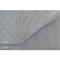 Κουρτίνες σετ δαντέλες-γάζα με το μέτρο Pua 2-1611 Grey