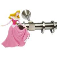 Κουρτινόξυλο παιδικό Disney Princess Φ 25mm nickel