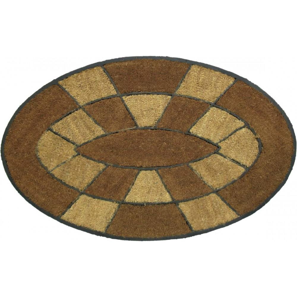 Χαλάκια εισόδου Oval Indian 002 60x90 cm