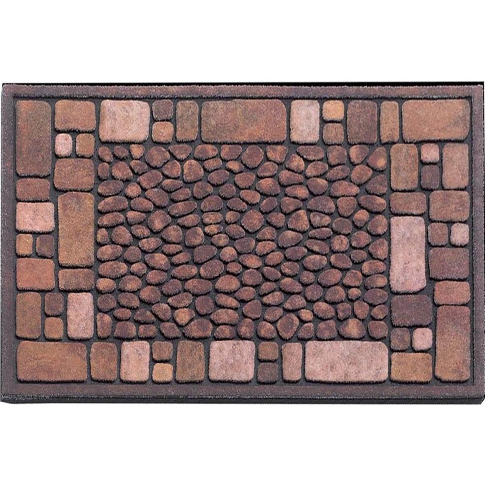 Χαλάκια εισόδου Ecomat 017 st.croix brown 40x60cm