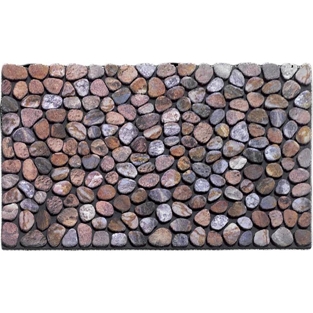 Χαλάκια εισόδου Ecomat 027 pebble beach beige 45x75cm