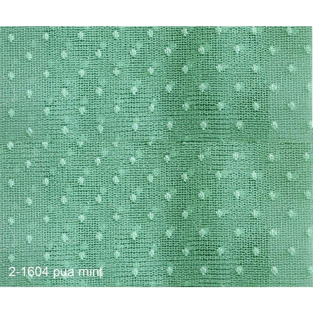 Κουρτίνα δαντέλα πουά με το μέτρο 2-1604 Mint