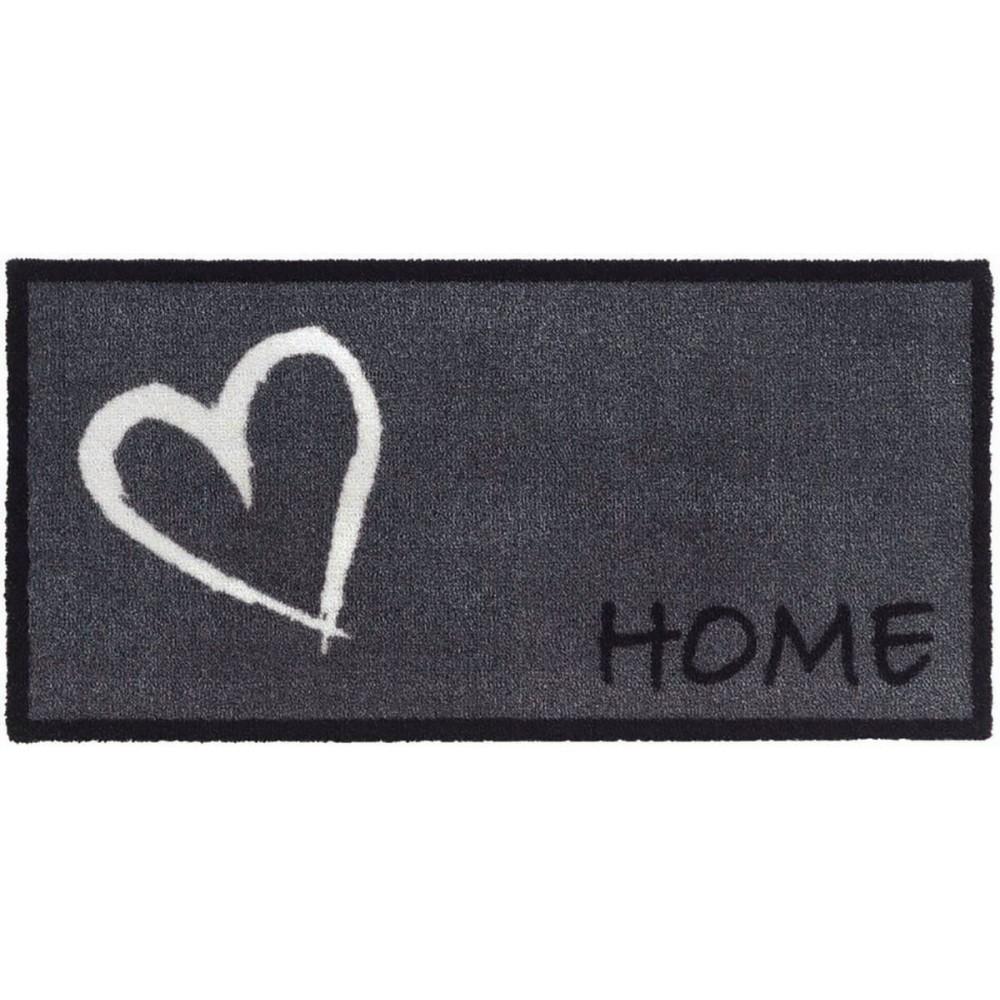 Χαλάκια εισόδου Vision 744 home heart grey 40x80cm