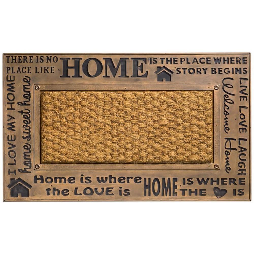 Χαλάκια εισόδου Kerala 001 home bronze 45x75cm