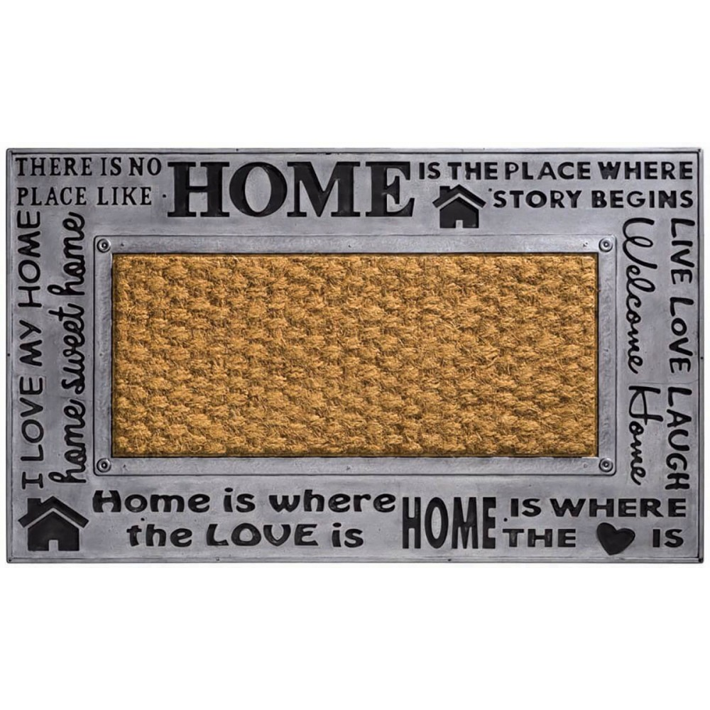 Χαλάκια εισόδου Kerala 002 home metallic 45x75cm
