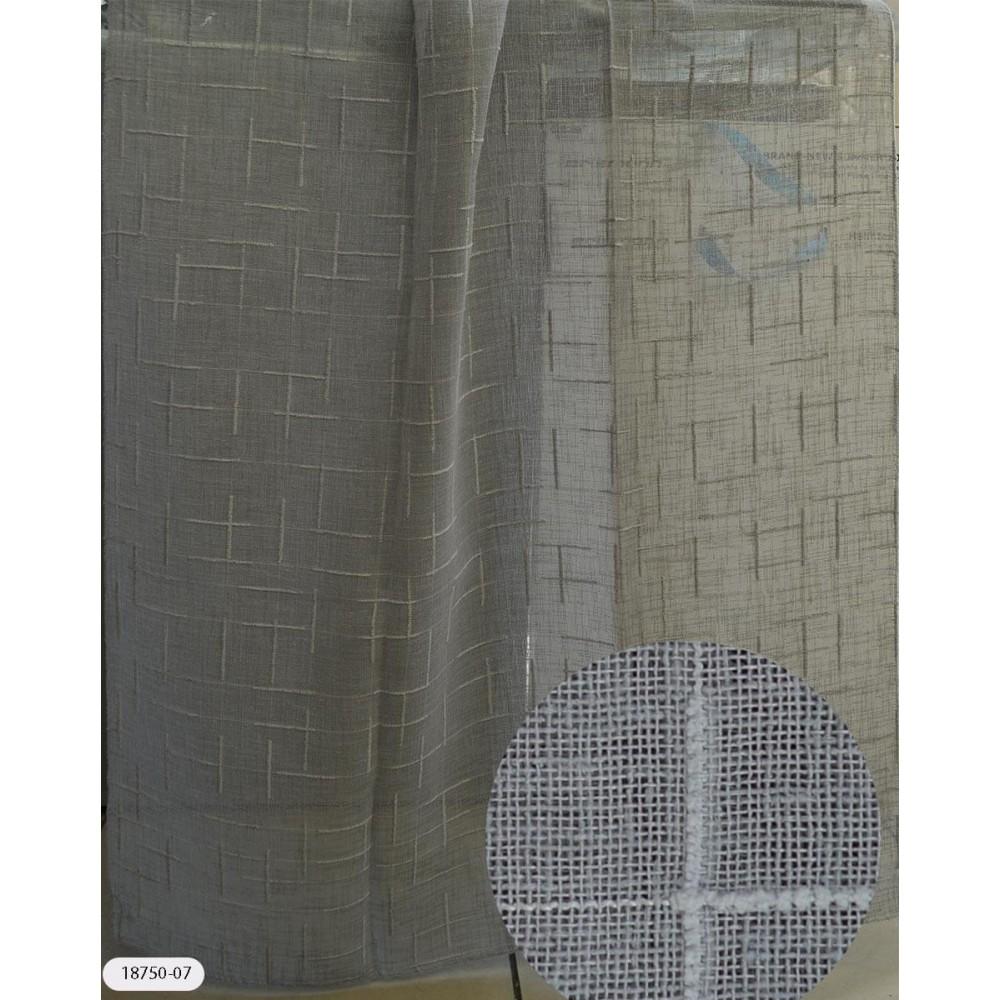Κουρτίνες μονόχρωμες ημιδιάφανες με το μέτρο 18750 1
