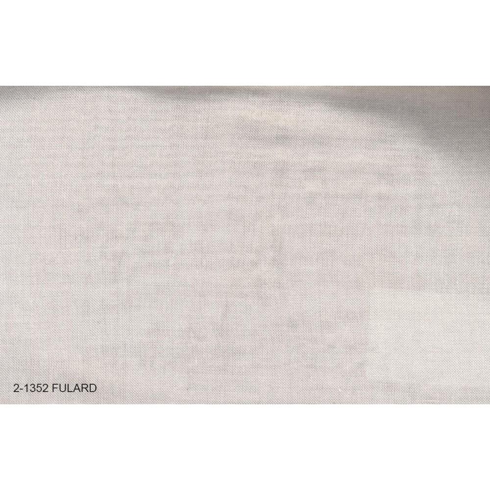 Κουρτίνα μονόχρωμη με το μέτρο Fulard 2-1352