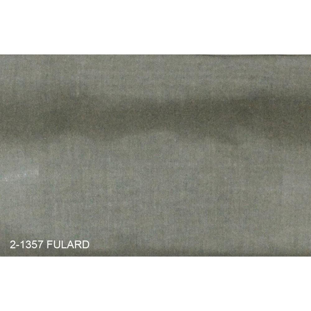 Κουρτίνα μονόχρωμη με το μέτρο Fulard 2-1357