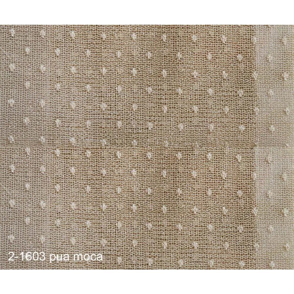 Κουρτίνα δαντέλα πουά με το μέτρο 2-1603 Moca