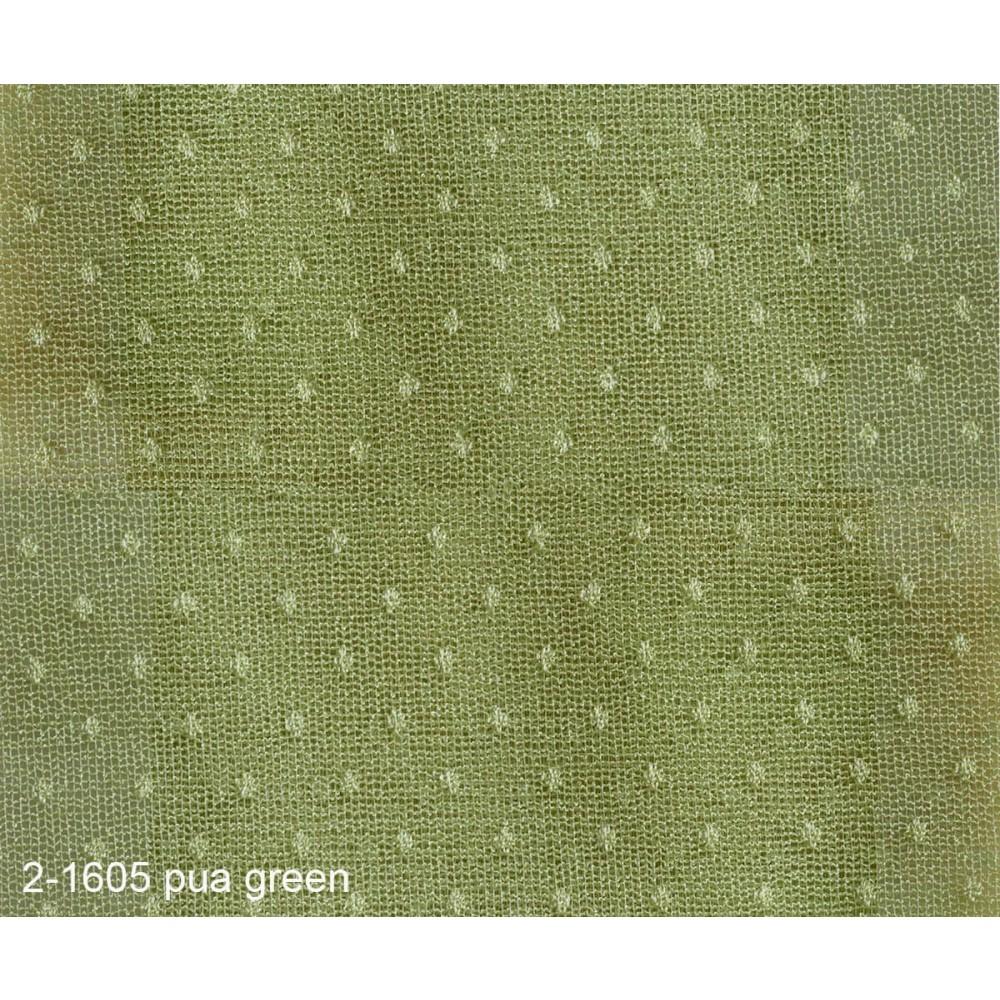 Κουρτίνα δαντέλα πουά με το μέτρο 2-1605 Green