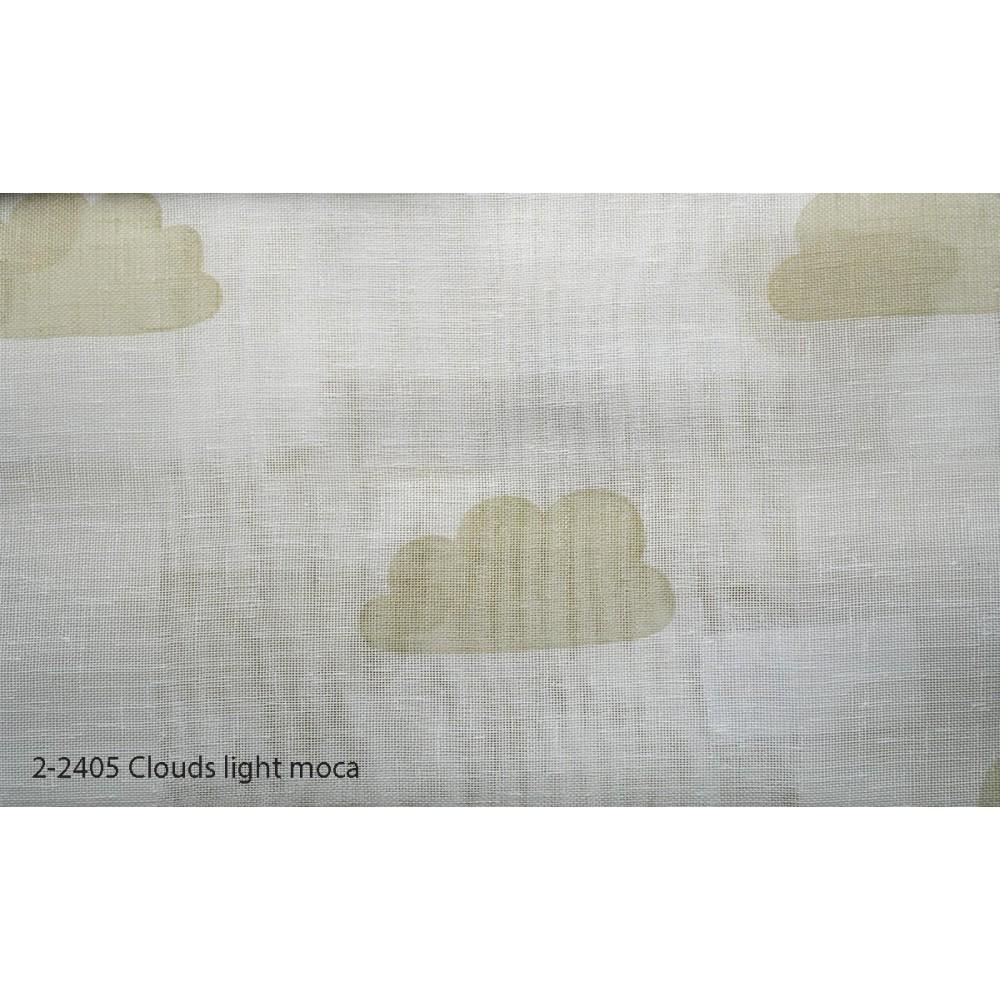 Κουρτίνα εφηβική με το μέτρο Clouds light moca 2-2405