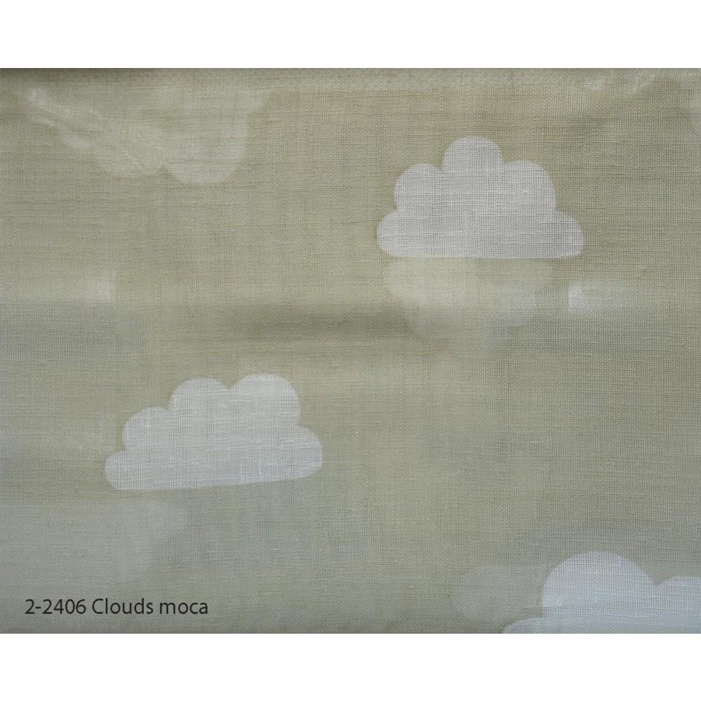 Κουρτίνα εφηβική με το μέτρο Clouds moca 2-2406