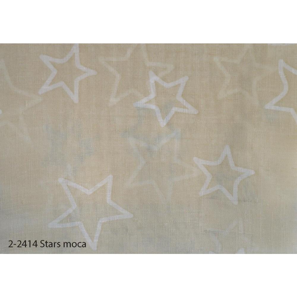 Κουρτίνα εφηβική με το μέτρο Stars moca 2-2414