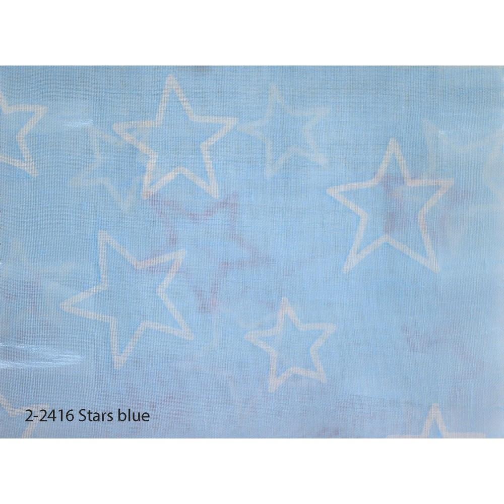Κουρτίνα εφηβική με το μέτρο Stars blue 2-2416