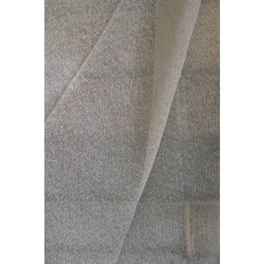 Κουρτίνες μονόχρωμες ημιδιάφανες με το μέτρο 20970 1