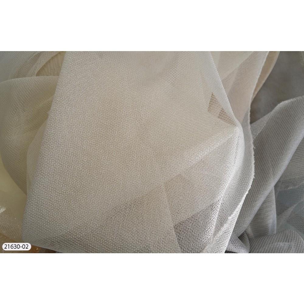 Κουρτίνες μονόχρωμες ημιδιάφανες με το μέτρο 21630 1