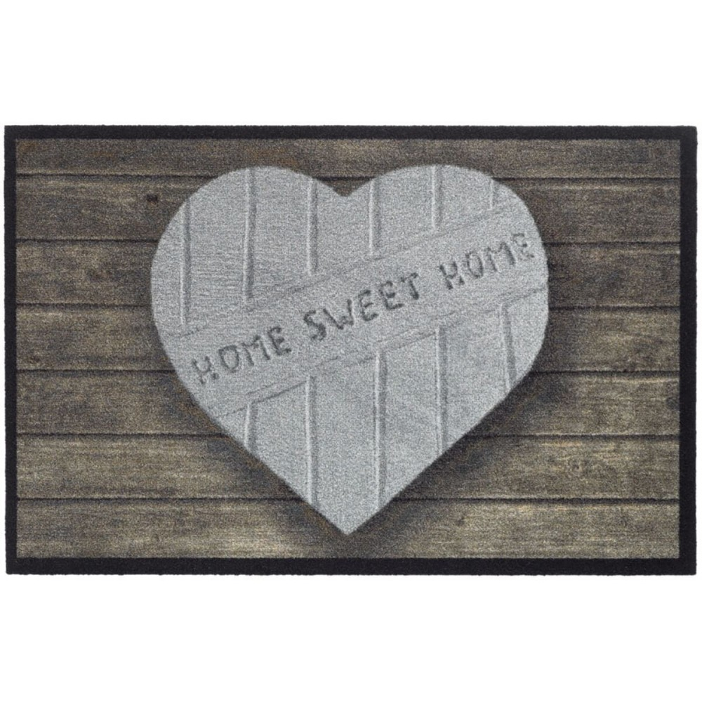 Χαλάκια εισόδου Mondial 003 heart home sweet home 50x75cm