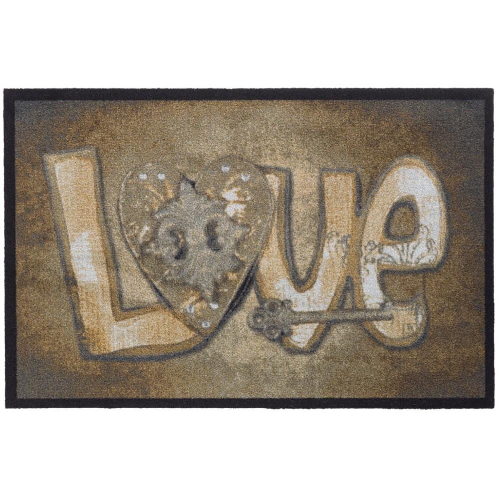 Χαλάκια εισόδου Mondial 005 love 50x75cm