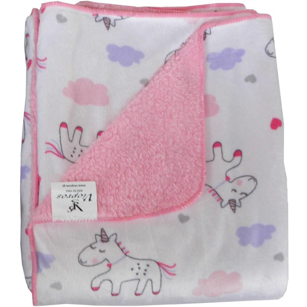 Παιδικές κουβέρτες μονές 2 όψεων Viopros σχ.74 155x220cm