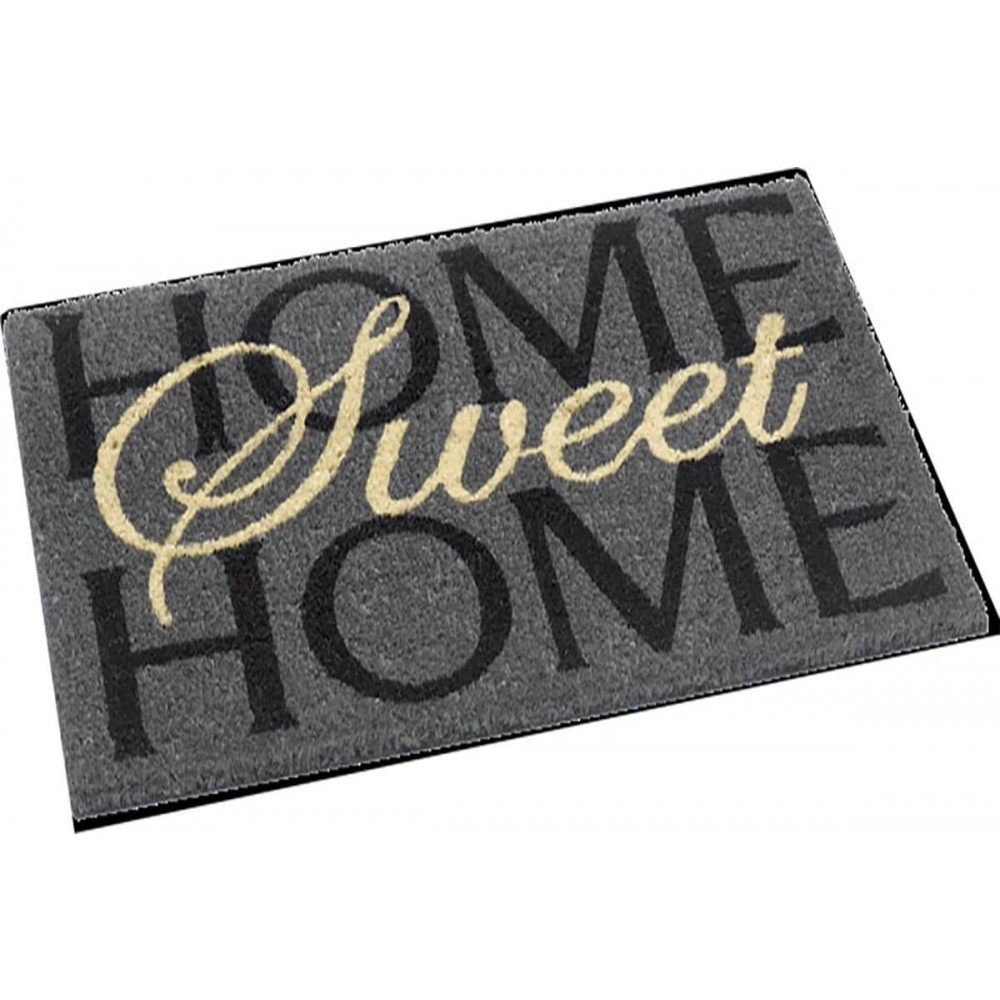 Χαλάκια εισόδου Free Style 794 sweet home grey 40x60cm