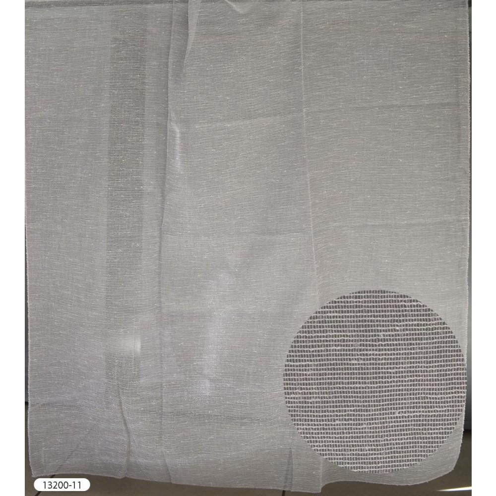 Κουρτίνες μονόχρωμες διάφανες με το μέτρο 13200 1