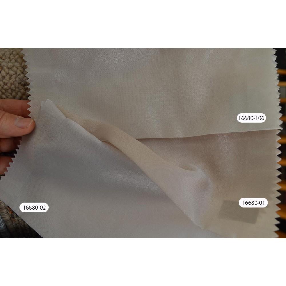 Κουρτίνες μονόχρωμες ημιδιάφανες με το μέτρο 16680 1