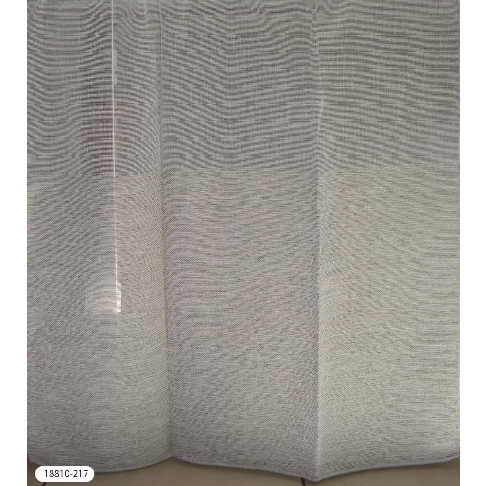 Κουρτίνες με φάσα ημιδιάφανες με το μέτρο 18810-217
