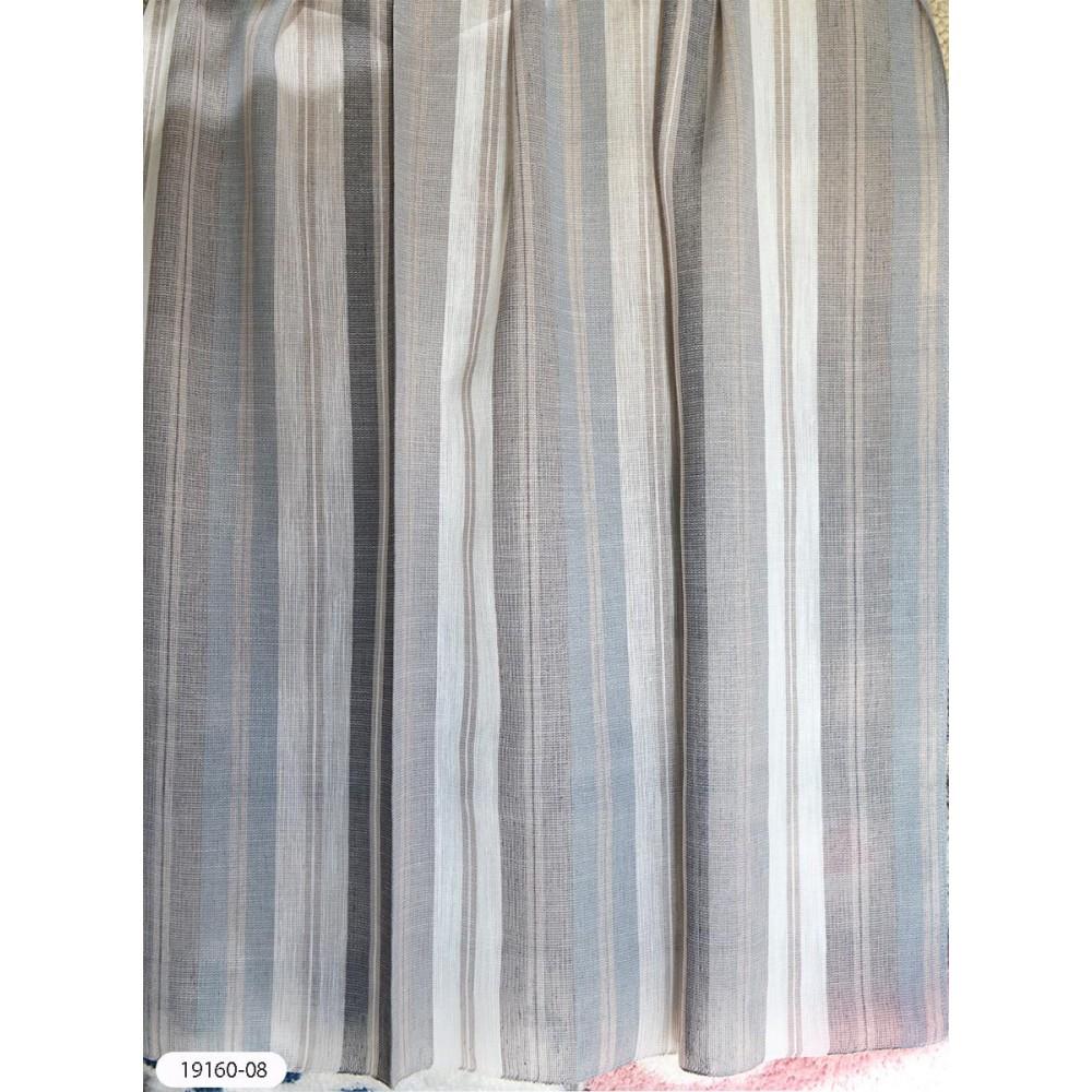 Κουρτίνες ριγέ ημιδιάφανες με το μέτρο 19160 1