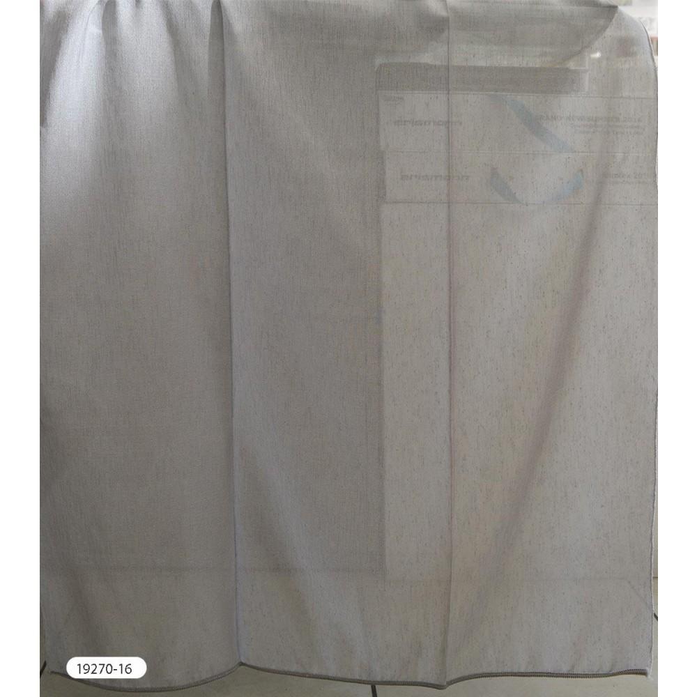 Κουρτίνες μονόχρωμες ημιδιάφανες με το μέτρο 19270 1