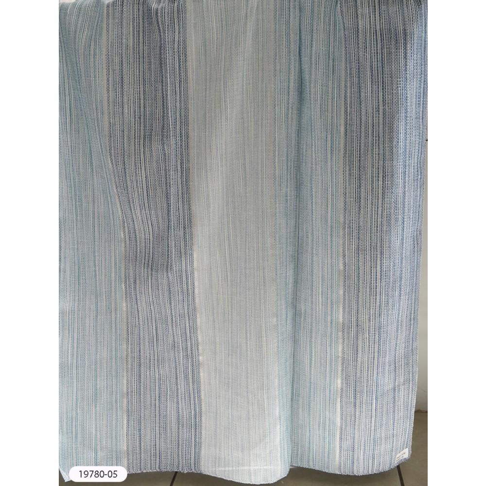Κουρτίνες ριγέ ημιδιάφανες με το μέτρο 19780-05 1