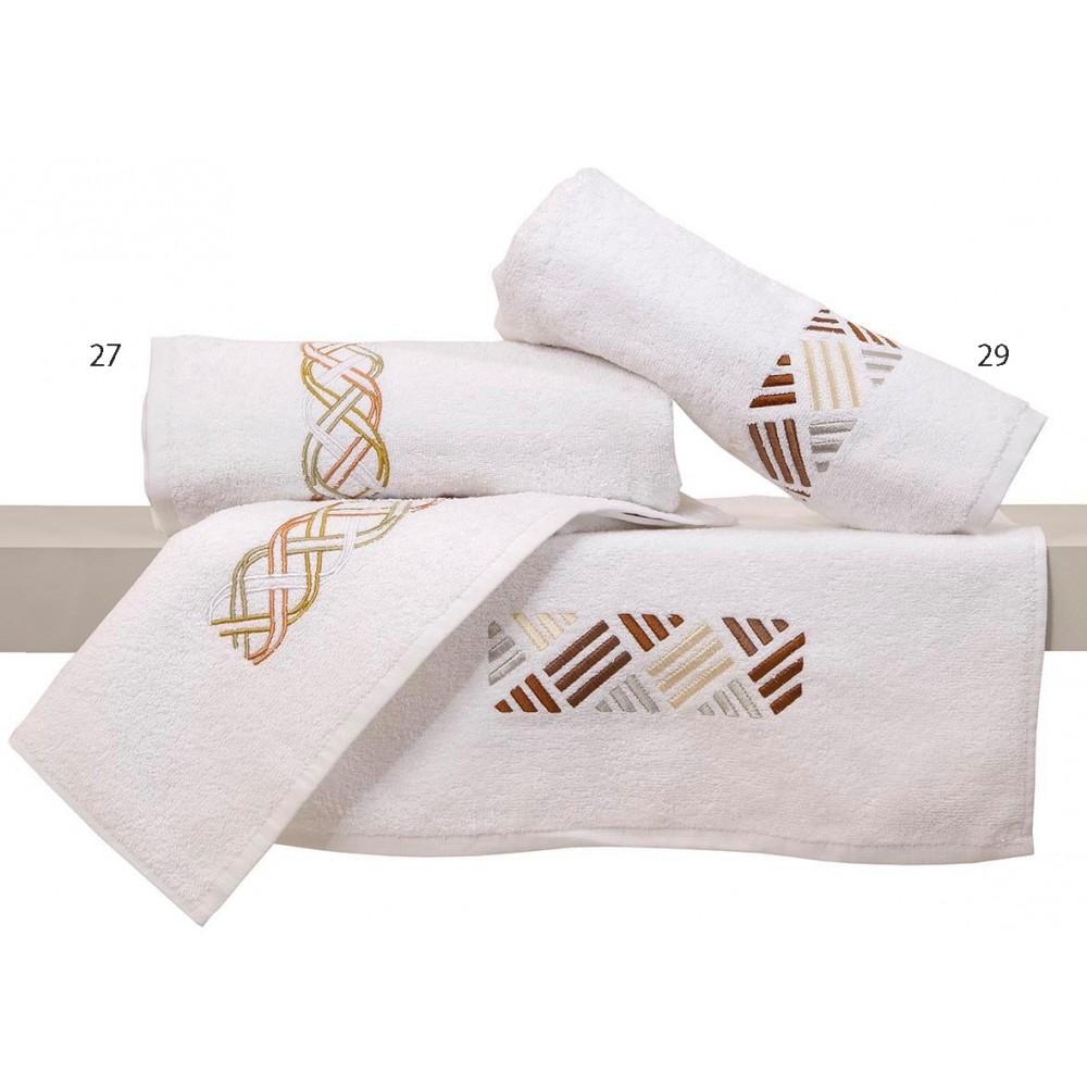 Πετσέτες με κέντημα σετ 2 τεμ. Viopros 29