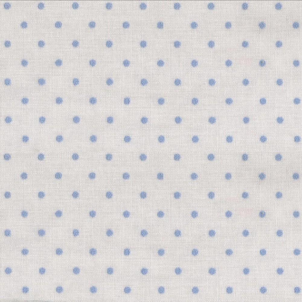 Κουρτίνα πουά Plumetti etamin blue 20