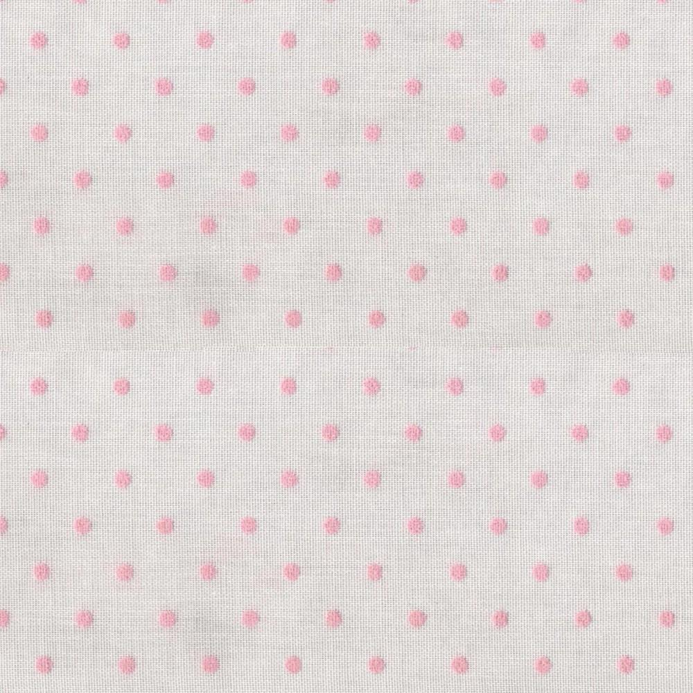 Κουρτίνα πουά Plumetti etamin pink 10