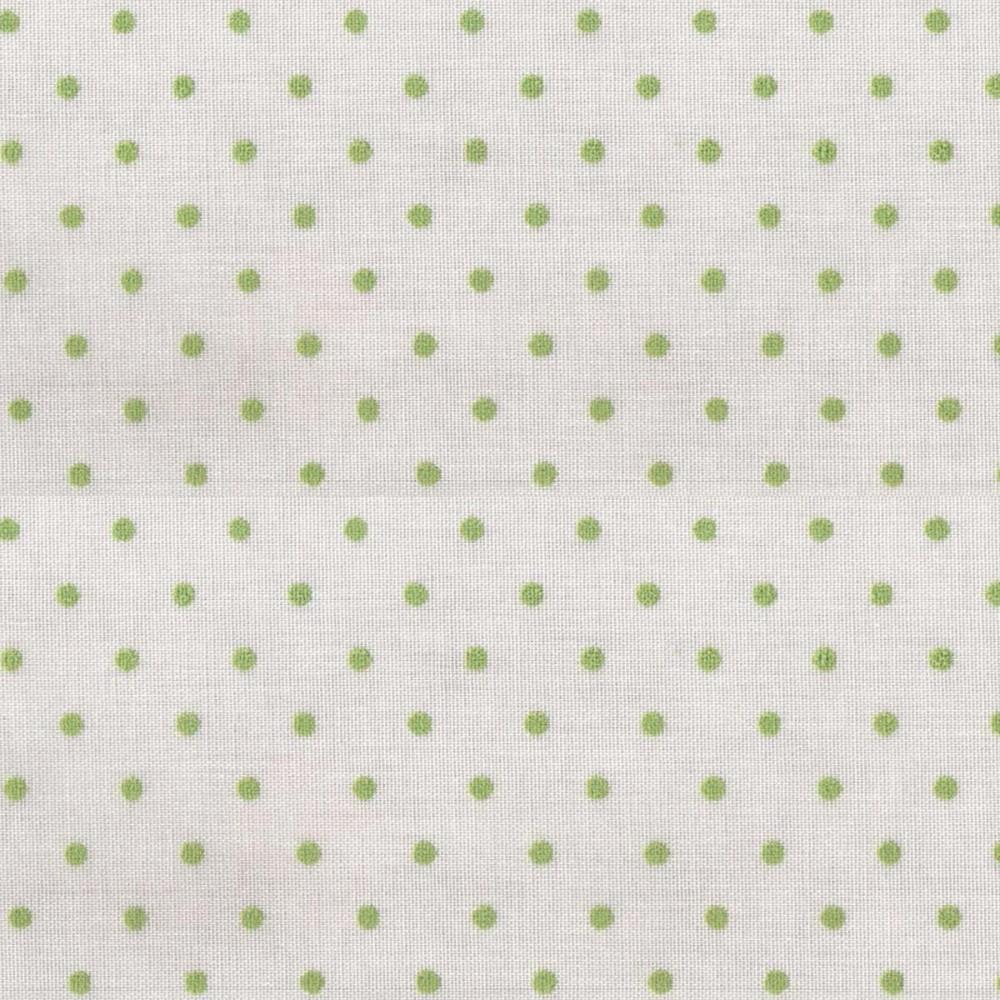 Κουρτίνα πουά Plumetti etamin green 50