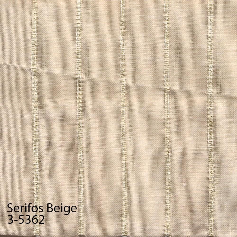Κουρτίνα Serifos beige με το μέτρο