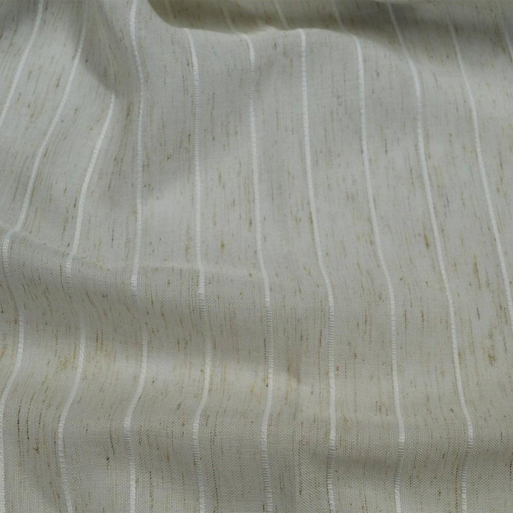 Κουρτίνα σκέτη με ρίγες Serifos με το μέτρο