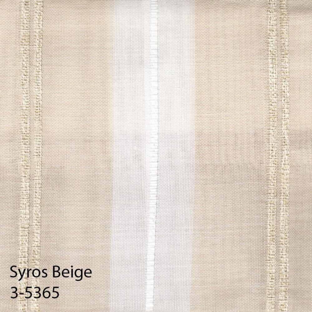 Κουρτίνα Syros beige με το μέτρο