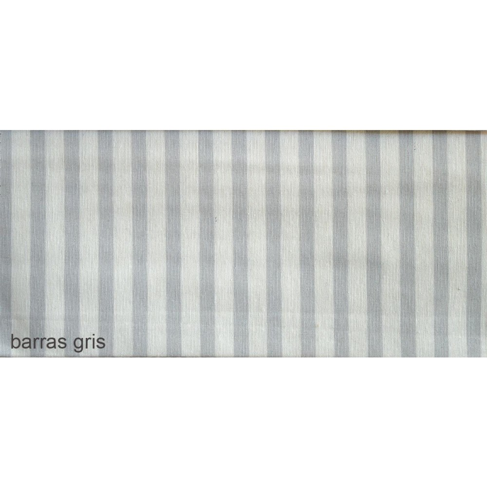 Ύφασμα λονέτα με το μέτρο Estampada Barras gris