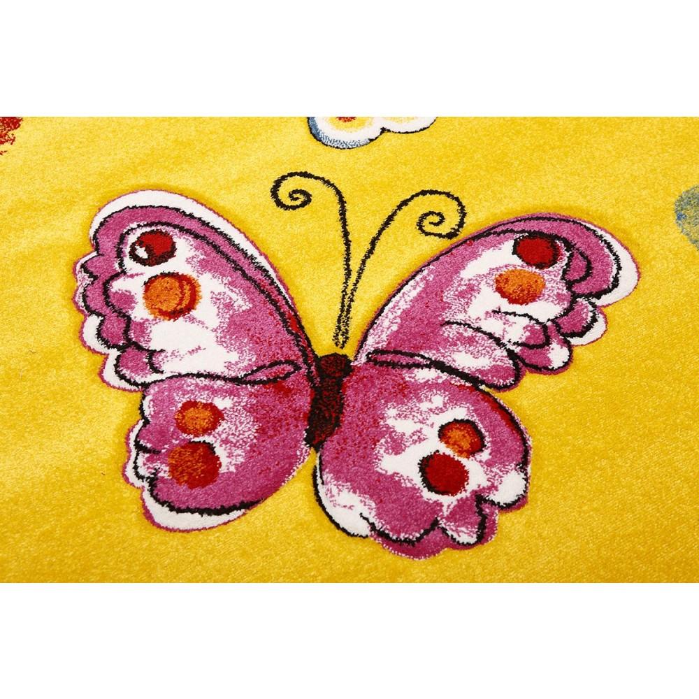 χαλιά παιδικά butterflies λεπτομέρειες
