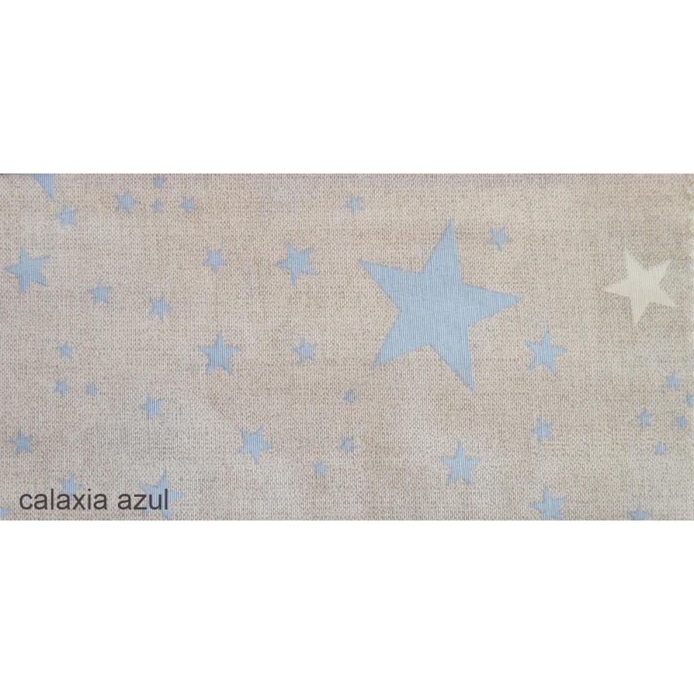 Ύφασμα με το μέτρο Estampada Galaxia azul