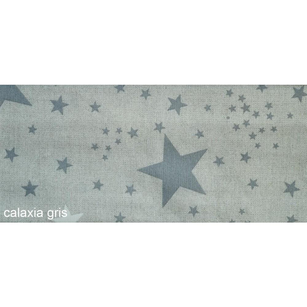 Ύφασμα με το μέτρο Estampada Galaxia gris