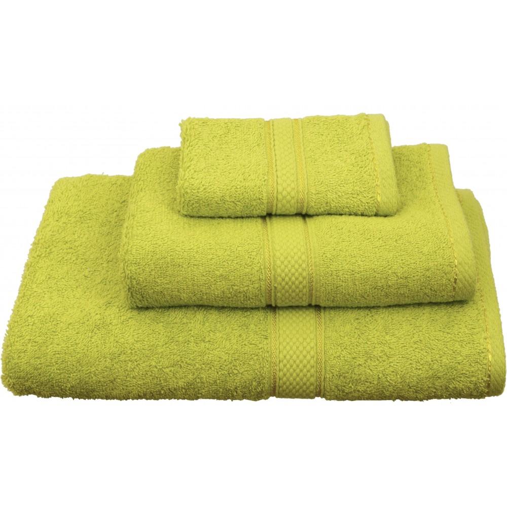 Πετσέτες μονόχρωμες πράσινες Viopros Classic